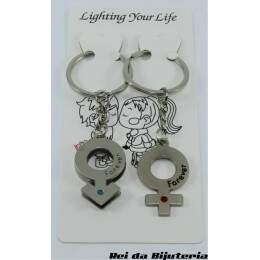 AC0794 - Par de Chaveiros Lighting Your Life - M4