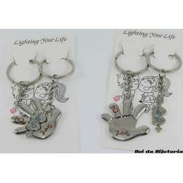 AC0795 - Par de Chaveiros Lighting Your Life - M5