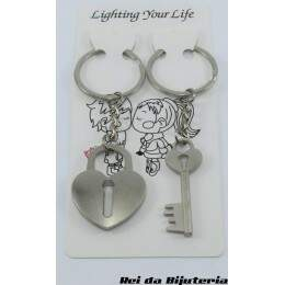 AC0797 - Par de Chaveiros Lighting Your Life - M7