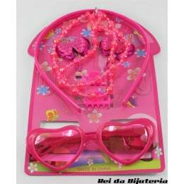 CA2279 - Kit Fashion Jewelry Kids - M2 (Cores Sortidas)