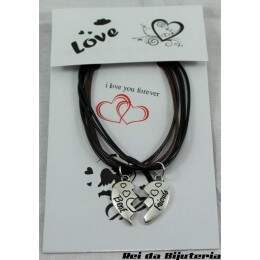 PS5006 - Pulseira Bijuteria D&R Best Friends - M6