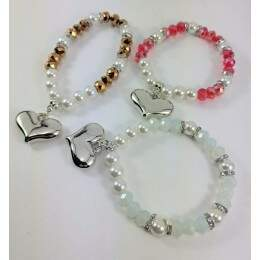 PS5077 - Pulseira Gira Bijoux Mix Colors - M6 (Cores Sortidas)