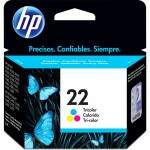 CARTUCHO ORIGINAL HP 22 COLOR