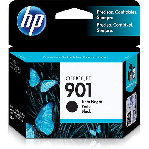 CARTUCHO ORIGINAL HP 901 PRETO