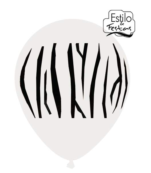 Balão Zebra Happy Day