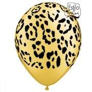 Balão Safari Leopardo Leopard Spots Qualatex