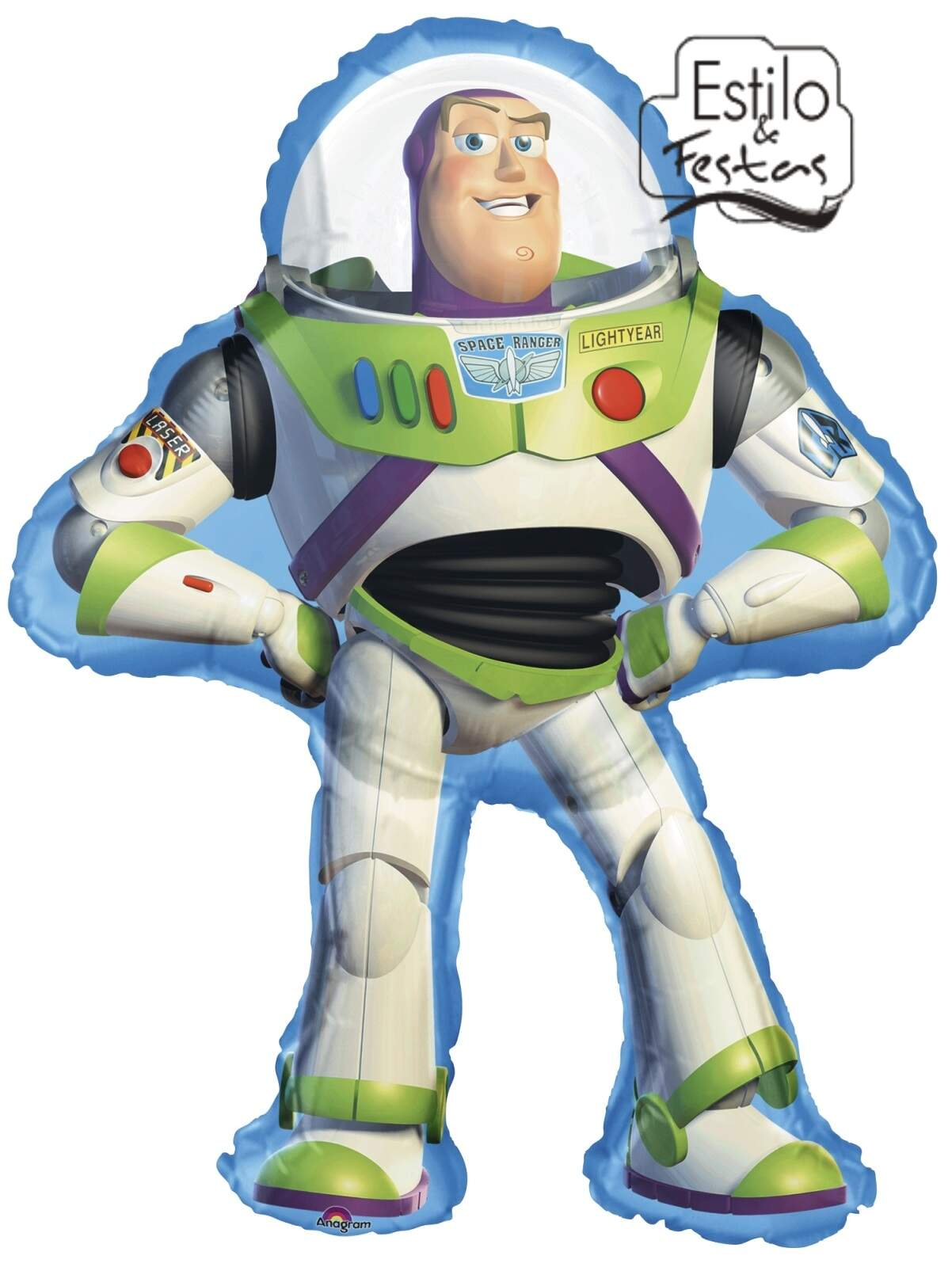 Balão Buzz Toy Story Full Body Anagram