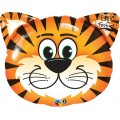 Balão Tigre Laranja Tickled Tiger Qualatex
