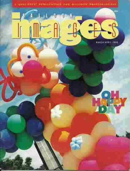 Revista Qualatex Balloon Images março e abril de 2000