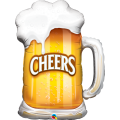 Balão caneca de chopp 23488 Cheers Beer Mug Qualatex