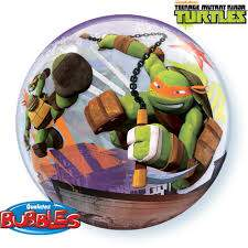 Bubble Tartaruga Ninja Turtles 65580 Teenage Mutant Ninja Turtles - Qualatex
