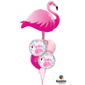 Balão metalizado Flamingo 57804 Qualatex