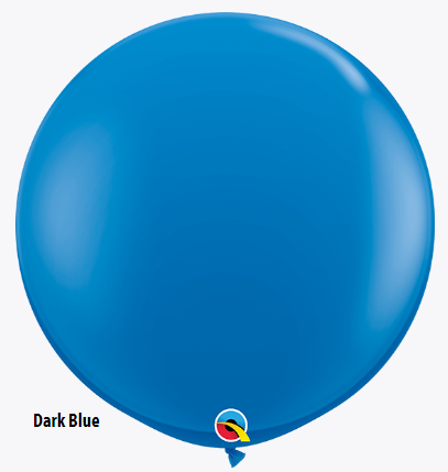 Balão Azul escuro  Dark Blue 41996 Standard Color Qualatex