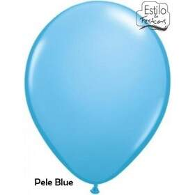Balão Azul Claro Pale Blue Standard 42773 Color Qualatex