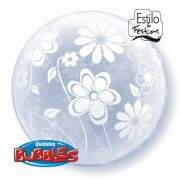 Deco Bubble Flores em Tudo Floral Patterns All Around Qualatex
