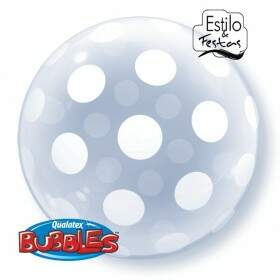 Deco Bubble Bolinhas Grandes em Tudo Big Polka Dots All Around Qualatex