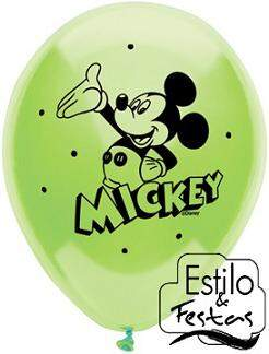 Balão Disney Mickey Mouse Sortido Qualatex