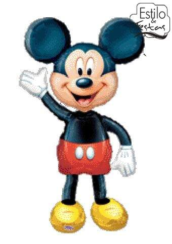 Balão Metalizado Mickey Mouse Clubhouse Airwalkers Anagram