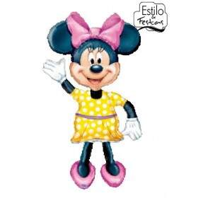 Balão Minnie Mouse Airwalkers Anagram