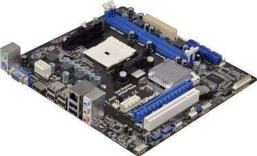 Placa Mae A55m-hvs DDR3 Video, Som e Rede Onboard para Amd Socket Fm1 - Asrock