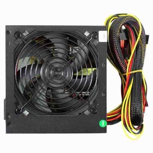 Fonte 500w Real - Atx 2.1 - Cooler 120mm - Conector Pci Express 6 Pinos - Wisecase