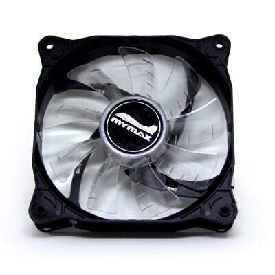Cooler Fan Vertilador P/ Gabinete 12cm 120mm Sem Led - Mymax Storm
