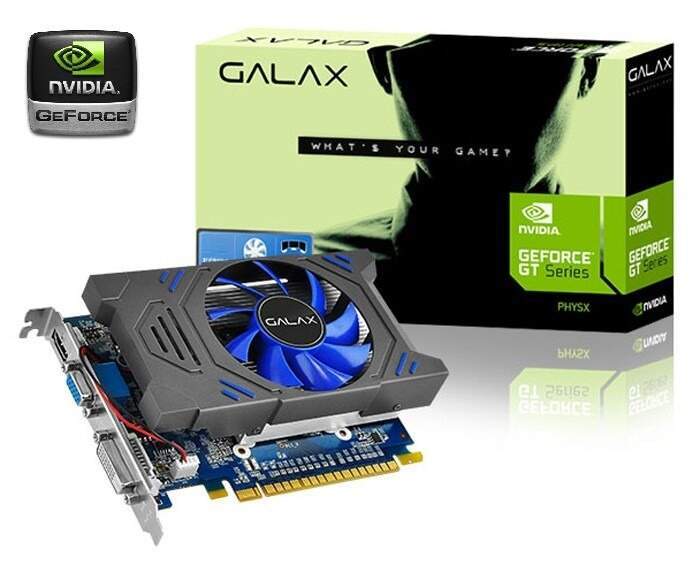 Placa Video Nvidia Geforce Gt730 2gb Ddr5 384 Cores C/ Hdmi