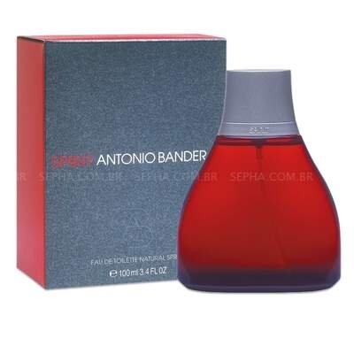 SPIRIT ANTONIO BANDERAS EDT MAS 100 ML