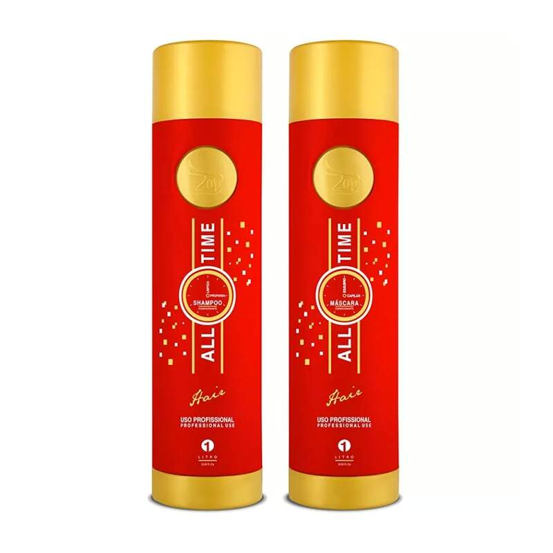 Zap Professional All Time Escova Progressiva - 2x1000ml