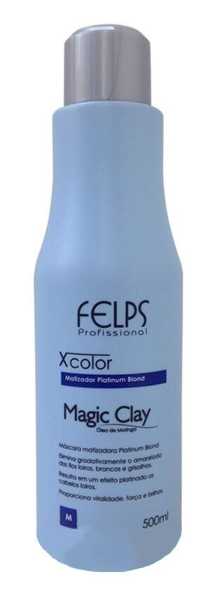 Felps Profissional Matizador Magic Clay Xcolor - 500ml