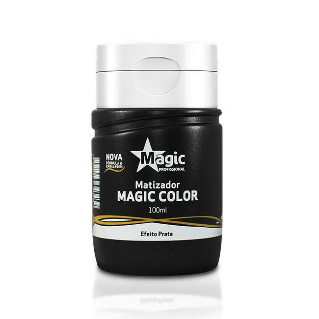Magic Color Platinum Blond (Efeito Prata) - 100ml