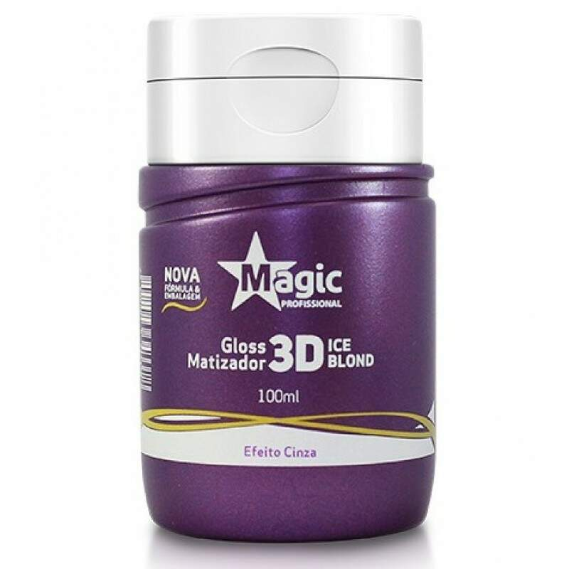 Magic Color Gloss Matizador 3D Ice Blond (Efeito Cinza) - 100ml