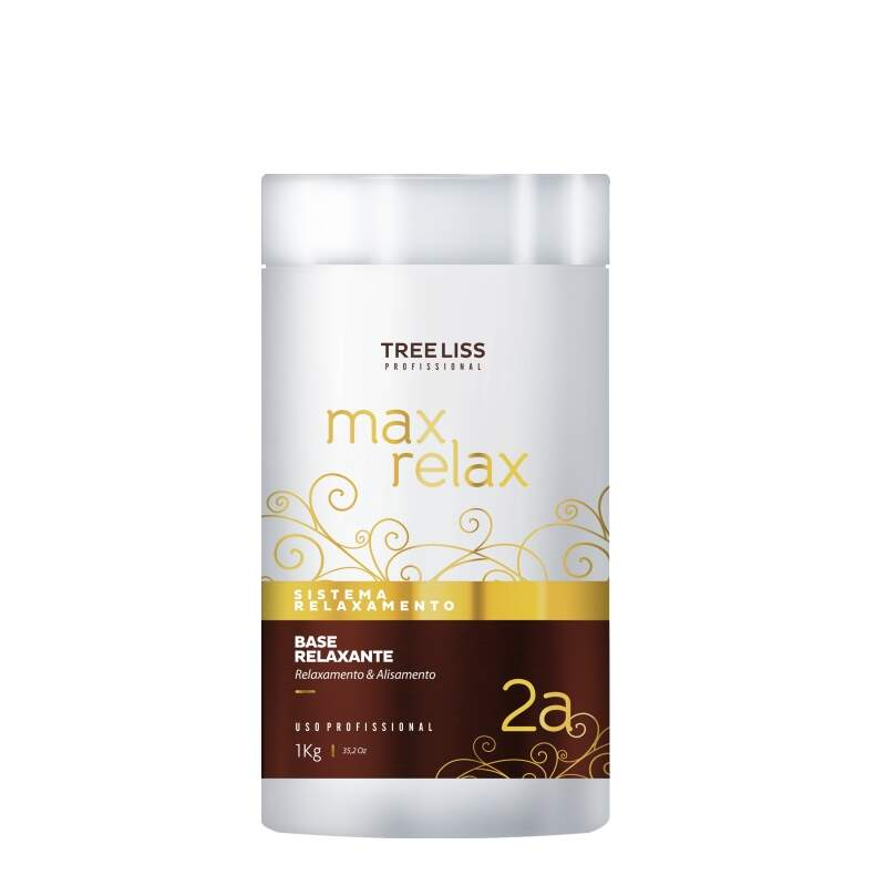 Tree Liss Max Relax Base Relaxante (2A) - 1Kg