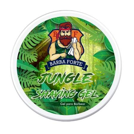 Barba Forte Jungle Shaving Gel de Barbear - 170g