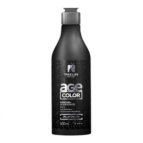 Tree Liss Age Color Platinum Máscara Acidificante - 500ml