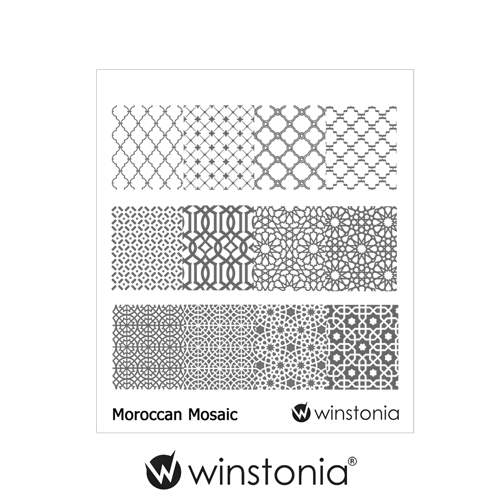 Moroccan Mosaic W-16