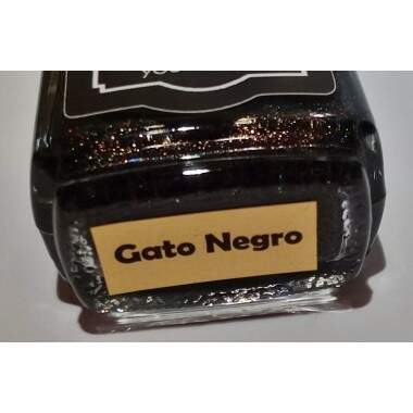 Gato Negro (holo preto base jelly)