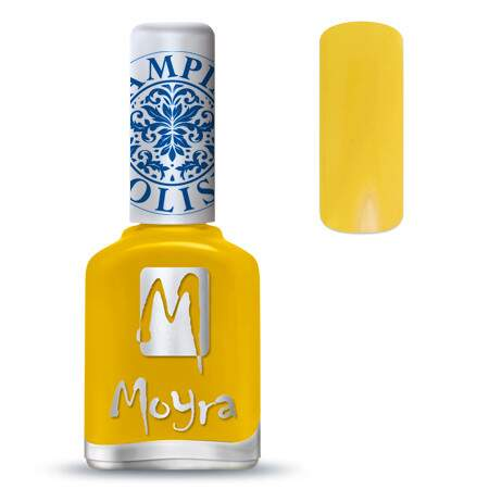 Stamping Polish 12 Yellow