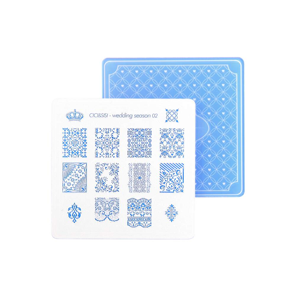 Acrylic Stamping Plate Kit (Wedding Season 01-04)