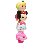 Lip Smacker Tsum Tsum Minnie, Marie, Cheshire Cat, and Tinker Bell