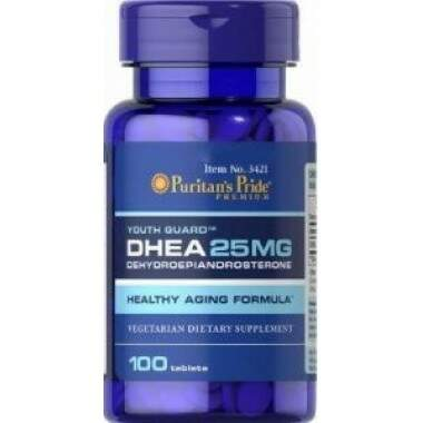 DHEA Dehydroepiandrosterone 25mg (100 tablets)