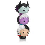 Lip Smacker Tsum Tsum Maleficent (Blackberry Magic) Cruella (Cruel Red Velvet) Ursula (Wicked Grape)