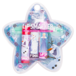Lip Smacker Disney Holiday Frozen Lip Balm Trio Bag (Blueberry Pop - Ice Cream Pop - Frozen Jelly Bean)