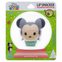Lip Smacker Holiday Tsum Tsum Snow Globe Mickey - Jolly Jelly Bean