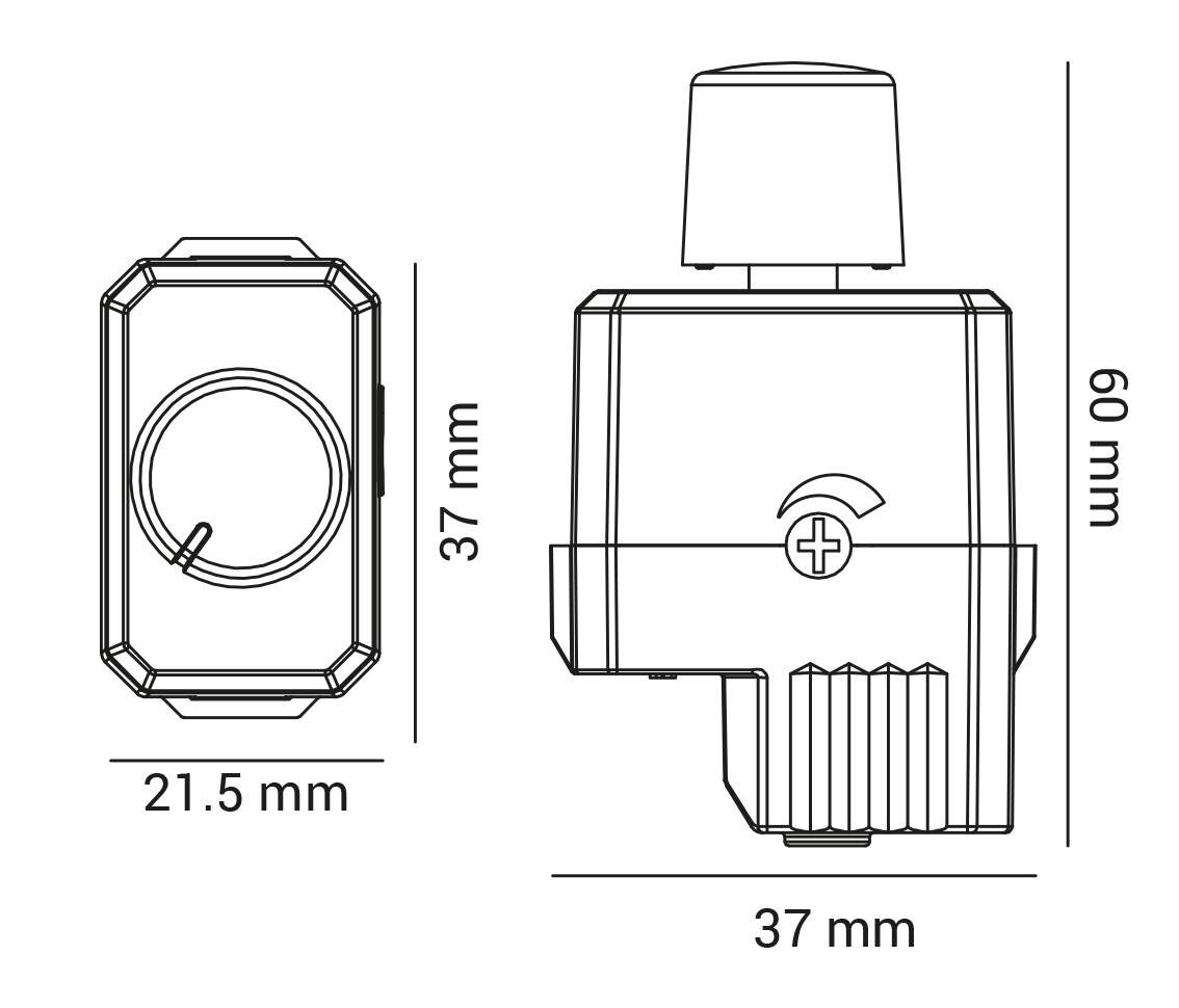 LED DIMMER Switch interruptor