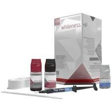 Kit Clareador Whiteness HP 35% 3 Pacientes com Top Dam - FGM