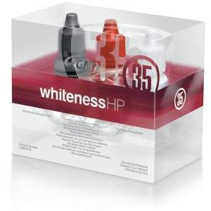 Kit Clareador Whiteness HP 35% 3 Pacientes Sem Top Dam - FGM