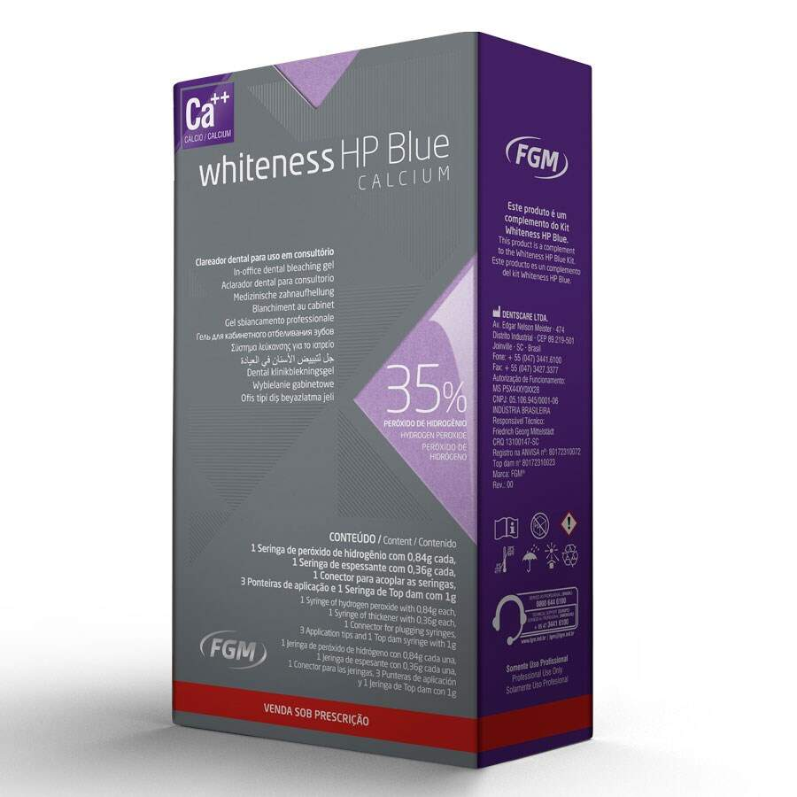 Mini Kit Whiteness HP Blue 35% - FGM