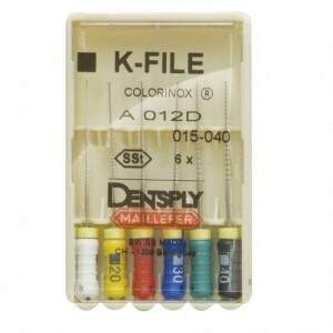 Lima Tipo Kerr 1 Serie 21MM 6 UN Maillefer - Dentslpy
