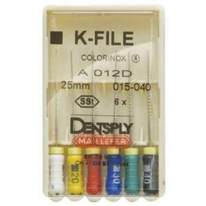 Lima Tipo Kerr 1 Serie 25MM 6 UN Maillefer - Dentslpy